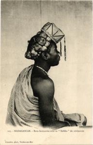 CPA Bara-Iantsantsa avec sa SOBIKA de ceremonie MADAGASCAR (709411)