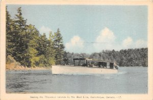 br106325 thousand islands by boat line gananoque canada