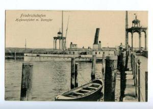 150795 GERMANY FRIEDRICHSHAFEN ship Vintage postcard