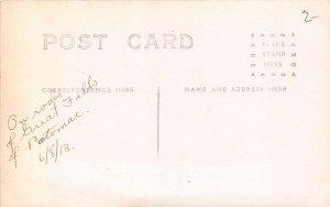 H78/ Washington D.C. RPPC Postcard c1910 Great Falls of Potomac River 165