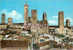 Postcard Modern Gimignano Vue Generale