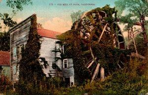 California Napa The Old Mill 1911