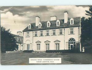 1949 rppc ROLLING RIDGE CONFERENCE CENTER North Andover Massachusetts MA HM2611