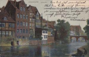 HANNOVER , Leineufer , Germany , PU-1907