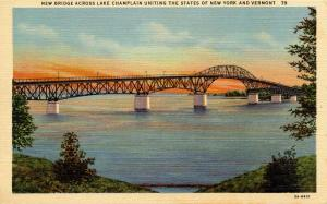 VT - Lake Champlain Bridge to New York