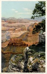 AZ - Grand Canyon National Park. East from Hopi Point    (Fred Harvey)