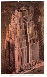 New York City , Hotel New Yorker