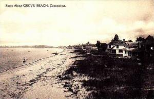 Connecticut Grove Beach The Shore Albertype