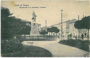 CARTOLINA d'Epoca: PESARO citta' - PESARO URBINO