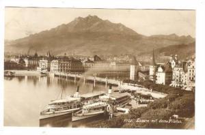 RP: Luzern mit dem Pilatus , Switzerland, 00-10s