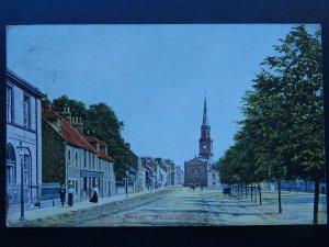 Scotland East Lothian HADDINGTON Court Street c1906 Postcard by Hartmann
