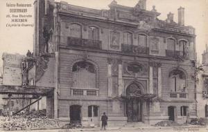 Salons - Restaurant Degermann, Rue Buirette, Reims (Marne), France, 1900-1910s