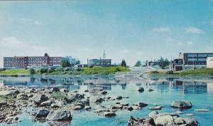 Scenic Water View, Vue de Senneterre, Abitibi, Quebec, Canada, PU-1991