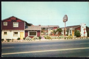 California The Sandpiper Motor Hotel, Mission Blvd SAN DIEGO Chrome 1950s-1970s