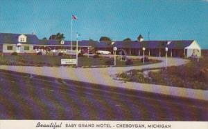 Michigan Cheboygan Baby Grand Motel 1952