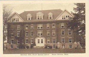 Massachusetts Mount Herman School Overtoun Hall Albertype