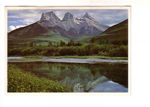 The Three Sisters, Bow Rover, Canmore Alberta, Don Harmon, Majestic