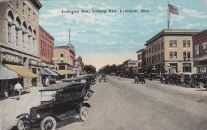 Michigan Ludington Looking East On Ludington Avenue sk7115