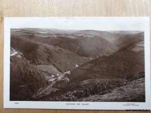 c1937 RPPC - Hunters Inn - Valley - Nr Trentishoe & Martinhoe - Devon