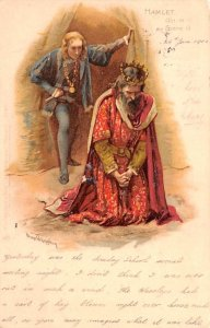 Opera, Theater Post Card Hamlet Act III, Scene III 1902