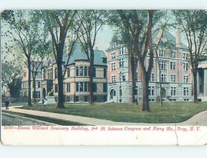 Pre-1907 EMMA WILLARD SEMINARY BUILDING Troy New York NY A1779