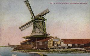 A Dutch Windmill, ROTTERDAM (South Holland), Netherlands, 1900-1910s