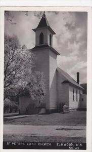 Wisconsin Elmwood St Peters Lutheran Church
