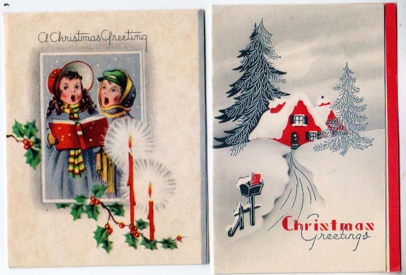 2 - Christmas Cards