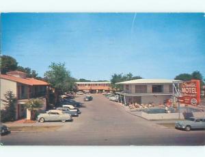 Pre-1980 OLD CARS & FRANKLIN MOTEL Las Vegas Nevada NV W6338