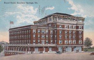 EXCELSIOR SPRINGS , Missouri, 1918; Royal Hotel
