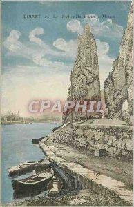 Old Postcard Dinant The Bayard Rock and the Meuse