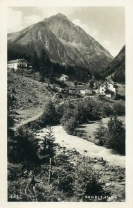 Austria Post card picturesque Ranalt panoramic view