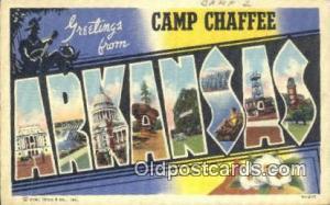 Arkansas USA Large Letter Town Vintage Postcard Old Post Card Antique Postale...