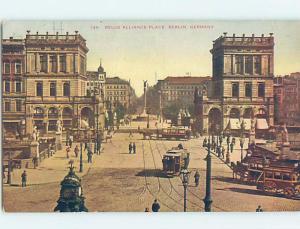 Unused Old Postcard BELLE ALLIANCE PLACE Berlin Germany F5281-22