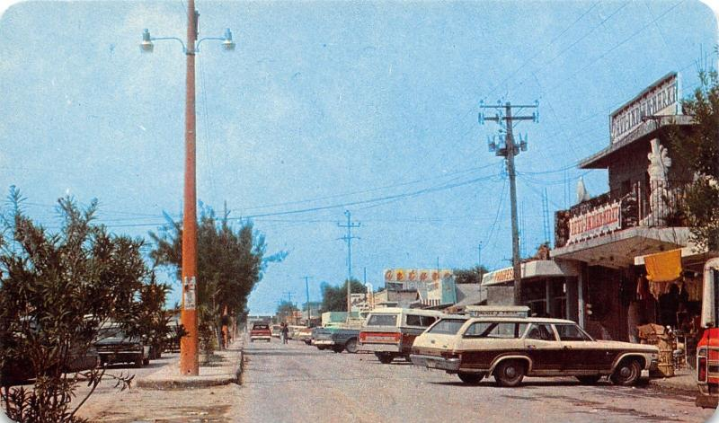 Nuevo Progreso MX  1970s Woody Station Wagon~Ford Pickup @ Main St Markets PC