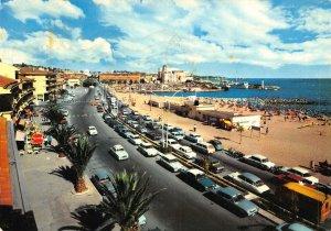 France La cote d'Azur Frejus Plage Boulevard de la Liberation Postcard