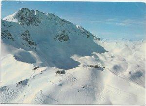 Arosa, Hornlihutte und Bahn, Hornli - Skigebiet, Switzerland, 1976 used Postcard