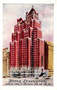New York City Hotel Lexington 1956