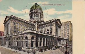 Post Ofice Chicago Illinois 1910