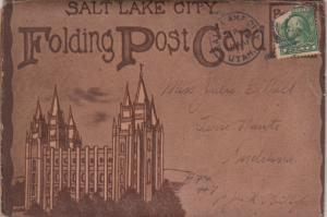 SALT LAKE CITY , Utah, 1915