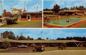 4327  GA Glenville 1950's Motel San-Su and Restaurant
