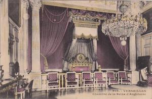 France Palais de Versailles Chambre de la Reine d'Angleterre