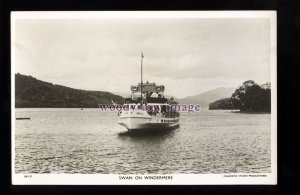 f1503 - Lake Windermere Excursion Ferry - Swan - postcard