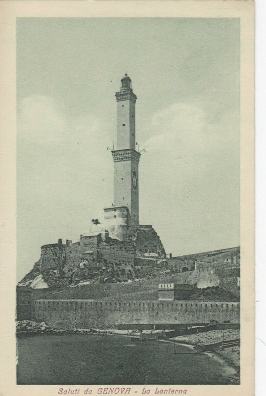 GENOVA , Italy , 00-10s ; LIGHTHOUSE