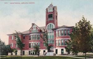 Exterior,  High School,  Ashland,  Oregon,  00-10s