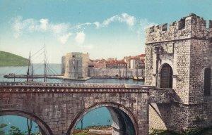 DUBROVNIK / RAGUSA, Croatia , 1900-10s : La porte de Ploce
