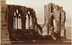 Vintage North Yorkshire Postcard, Whitby Abbey by Judges Ltd GM9