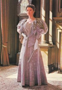 Mayoress Of Hull Ballgown By Grandfather Clock Fashion Postcard