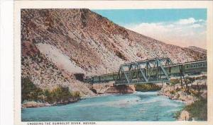 Nevada Train Crossing The Humboldt River