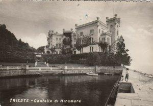 RP: TRIESTE , Italy , 1950s ; Castello di Miramare